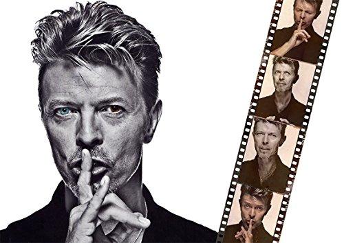 David Bowie música conmemorativa de la leyenda Póster, A0(1189X841MM)