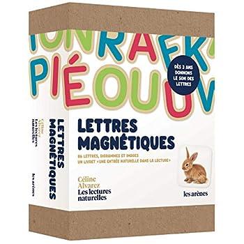 Coffret Lettres magnétiques 'Céline Alvarez Les Lectures naturelles'