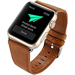 For Apple Watch Strap Band, Fulltime(TM) Leather Buckle Wrist Watch Band Strap Horses Belt for Apple Watch 38mm