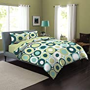 Victoria Dream 3pcs Double Size Bedsheet Set (Double size Bedsheet Set (1) Bedsheet 220 cm × 240 cm (2) Pillow