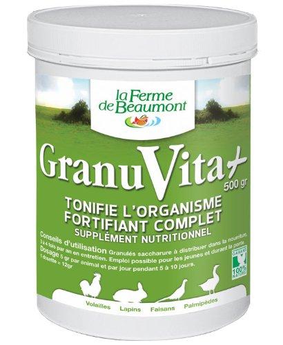 FERME DE BEAUMONT GranuVita 500 gr - Vitamines granulés concentrés volailles
