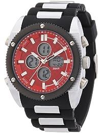 MC Timetrend sportliche Herren-Armbanduhr mit Analog und Digital Anzeige, Kunststoffband, Quarz 30434