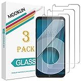 [3 Piezas] LG Q6 Protector de Pantalla,MOOKLIN [Anti-Rasguños] Film Protector de Pantalla para LG Q6 Cristal Vidrio Templado Premium