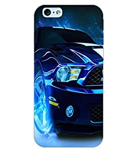 PrintDhaba CONCEPT CAR D-6404 Back Case Cover for APPLE IPHONE 6 PLUS (Multi-Coloured)