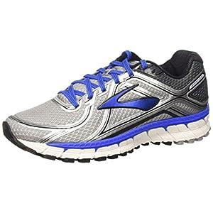 Brooks Adrenaline Gts 16 M, Zapatillas de Running Para Hombre, Multicolor (Silver/Electric Brooks Blue/Black), 40 2/3 EU