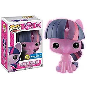 Funko Pop My Little Pony Vinyl Figure Twilight Sparkle Glow in the Dark Exclusive by MLP