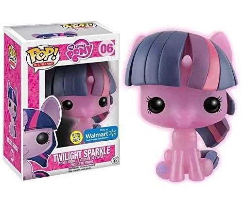Funko Pop My Little Pony Vinyl Figure Twilight Sparkle Glow in the Dark Exclusive by MLP