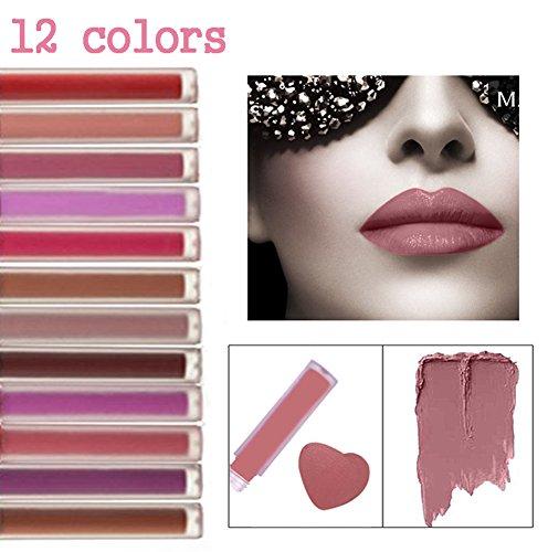 cineen-sacco-di-12-colori-trucco-rossetto-liquido-opaco-labbra-lucido-impermeabile-lip-gloss