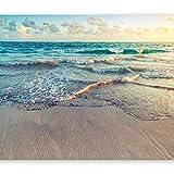 murando - Fototapete Strand Meer 400x280 cm - Vlies Tapete - Moderne Wanddeko - Design Tapete - Wandtapete - Wand Dekoration - Natur Landschaft c-B-0358-a-a