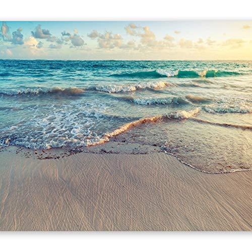 murando Carta da parati Spiaggia Mare 400x280 cm Fotomurali in TNT Murale alla moda Decorazione da Muro XXL Poster Gigante Design Carta per pareti Nature Paesaggio c-B-0358-a-a