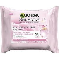 Garnier Skin Active Toallitas Micelares Desmaquillantes - 25 toallitas