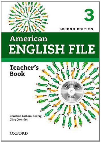 American English File 2E 3 Teacher Book: With Testing Program 2 Pap/Cdr edition by Latham-Koenig, Christina, Oxenden, Clive, Seligson, Paul (2013) Paperback