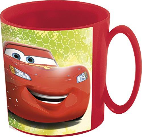 Unbranded 8020153 Cars Racers Mug, Plastique, Rouge, 8 cm