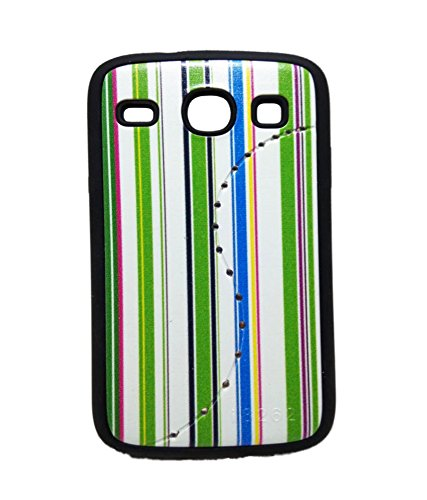 iCandy™ Matte Leather Soft Back Cover For Samsung Galaxy Core S8262 - Green  available at amazon for Rs.109