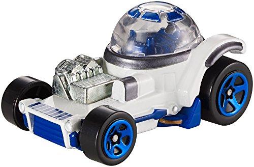 Hot Wheels DXP42 - Star Wars Rogue One Character Fahrzeug R2-D2 (Hotwheel R2d2)