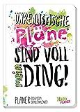 Schülerkalender Häfft PLANER Pocket A5 2018/2019 [Voll mein Ding] Fadenheftung, Hausaufgabenheft/Schüler-Tagebuch/Schülerplaner