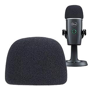 YOUSHARES Yeti Nano Microphone Pop Filter - Mikrofon Windschutz Schaumstoff Popschutz für Blue Yeti Nano Mikrofon