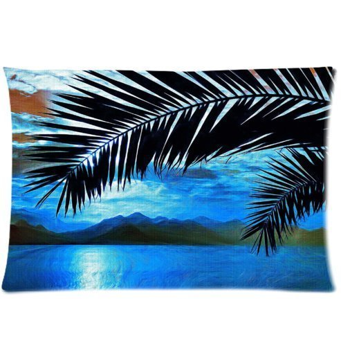 amxstore-cotton-polyester-decorative-throw-pillow-cover-cushion-case-pillow-case-siding-palm-trees-s