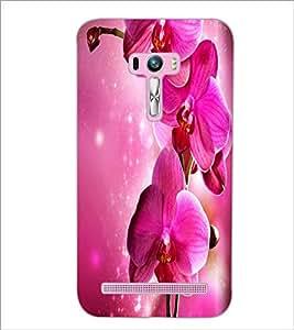 PrintDhaba Flower D-2183 Back Case Cover for ASUS ZENFONE SELFIE ZD551KL (Multi-Coloured)