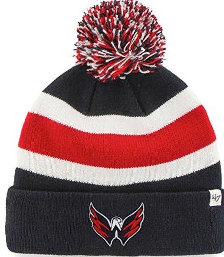 47 Brand NHL Washington Capitals Breakaway Cuff Knit Beany Hat One Size Mütze Forty...