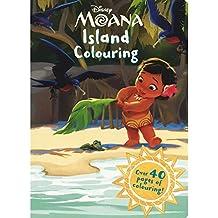 Disney Moana Island Colouring