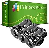 Printing Pleasure 3 Toner kompatibel für Dell H815dw S2815dn S2810dn - Schwarz, hohe Kapazität (6.000 Seiten)