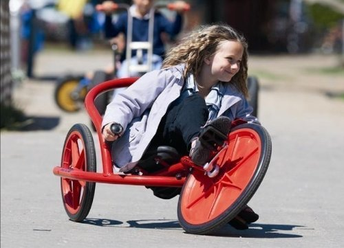 VIKING Explorer U-Rider von Winther / Länge: 125 cm / Breite: 76 cm / Höhe: 58 cm / Sitzhöhe: ca. 27 cm / für Kinder von 6-10 Jahren geeignet