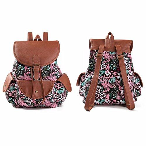 Koly_Le donne del vento nazionale di stampa dello zaino Drawstring Shopping Bag A