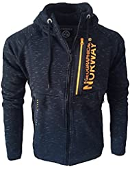 Geographical Norway - Veste tricot Geographical Norway Veste Gunmetal bleu marine - Bleu