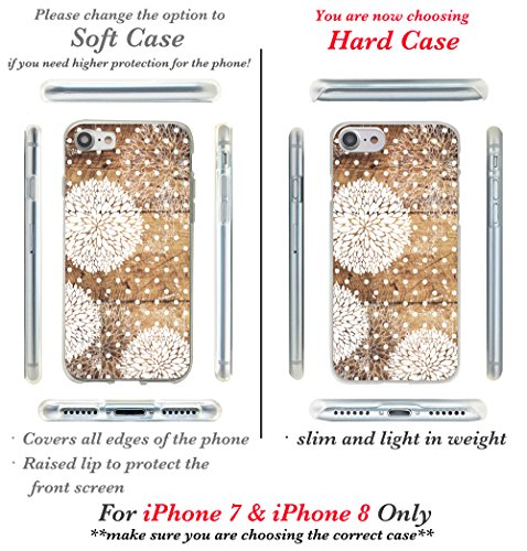iPhone 7Fall, casesbylorraine Cute Muster Case Kunststoff Hard Cover für Apple iPhone 7, A66, iPhone 7 Plus Soft Case G13