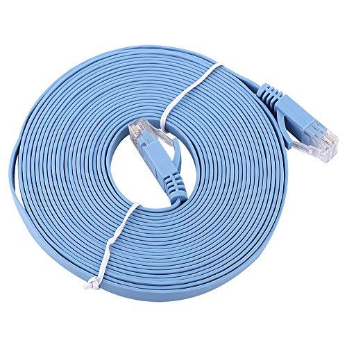 Lazmin 50 'FT Feet 50 Ft 50 Feet CAT6 RJ45 Red Ethernet