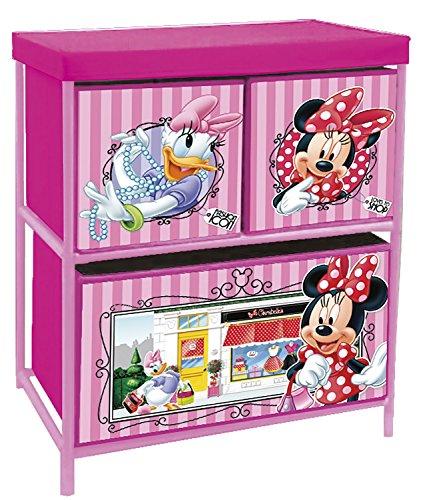Spielzeugregal AUSWAHL Minnie Maus Paw Patrol Mickey Maus JP Masks Kunststoffregal Kinderregal Regal (Minnie Maus) (Regal Maus)