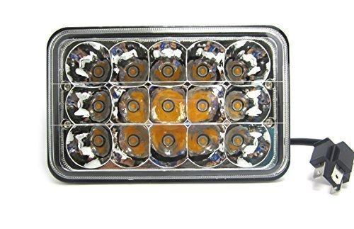 WINGONEER 45W Bridgelux LED Lámpara Bombillas de luz Lámpara Trabajo Faro de...