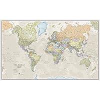 World Map Classic - Front Sheet Lamination