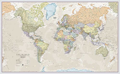 Maps International - Mapa del mundo gigante