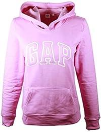 Gap Womens Fleece Arch Logo sudadera con capucha
