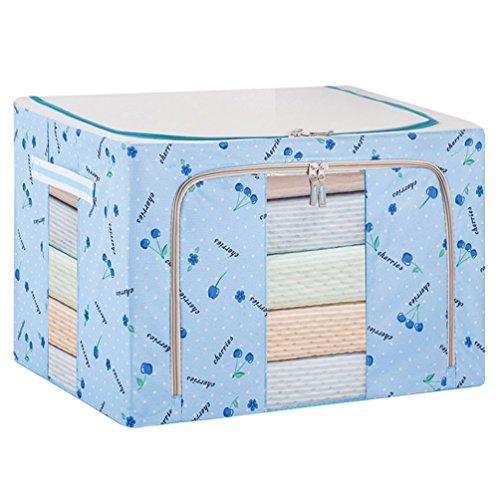 Dexinx Koffer Organizer Taschen Reise Kleidertaschen Packing Cubes für Kleidung Tragbar Steppdecke Organizer Tasche Blau 22L