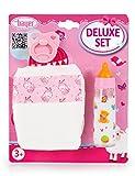 Bayer Design 79201AF Zubehör Set für Puppen: Windel, Magic-Fläschchen und Schnuller, Rosa,weiß