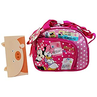 Disney Minnie y Daisy Duck Make up Bag Bolso de Mano Neceser Vanity Pochette