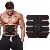 Toner muscolare stimolatore addominali, Addestratore muscolare addominale Cintura stimolante addominali EMS - Dispositivo di allenamento a batteria per muscoli - Attrezzature per il fitness portatile
