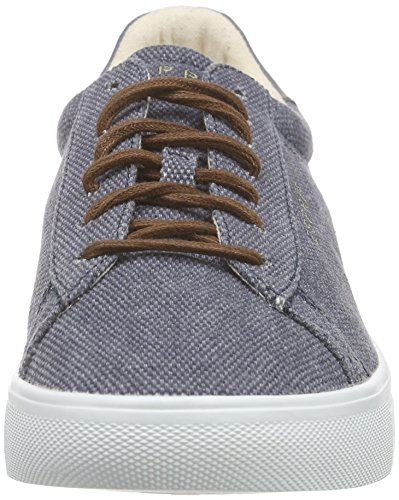 ESPRIT Damen Lizette Lace Up Sneakers Blau (400 navy)