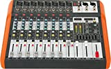 Ibiza MX802 mezclador de 8 canales de música con USB y Bluetooth