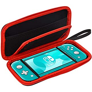 HUACITY Nintendo Switch Lite Case - Hard Protection Travel Carrying Case for Switch Lite Console and Accessories