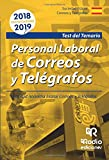 Personal laboral de Correos y Telégrafos. Sociedad Anónima Estatal Correos y Telégrafos.  Test del Temario