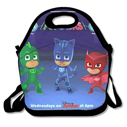 PJ-Masks-IT-Time-To-Be-A-Hero-Travel-Tote-Lunch-Bag