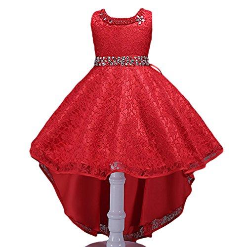 WanYang Kinder High End Kleid Spitze Mädchen Kleid Kostüme Tanzkleider Blumen Mädchen Kleider Tüllkleider Tutu Prinzessin Kleid