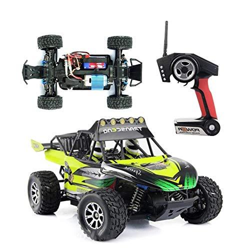 Qiulv 1/18 rc a distanza controllo verde auto via strada radio controlled roccia scalatore veicolo 4wd 50 kmh alto velocità passeggino da corsa per adulto e ragazzo regalo