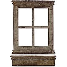 stencil riutilizzabile in acciaio al carbonio per scrapbook e fai da te cornice a forma di finestra Jiacheng29