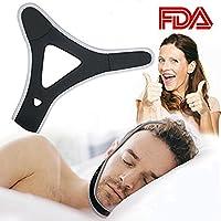Stop Schnarchen, verstellbarer Kinnriemen Vier Schnarch Nase Vents verbessern Schlafqualität für Männer Frauen... preisvergleich bei billige-tabletten.eu