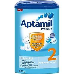 Aptamil Pronutra 2 Folgemilch, nach dem 6. Monat, 4er Pack (4 x 800 g)
